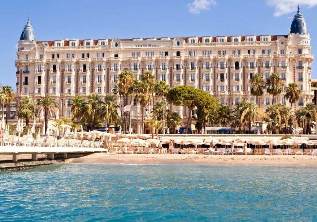 Top 5 des meilleurs hôtels à Cannes