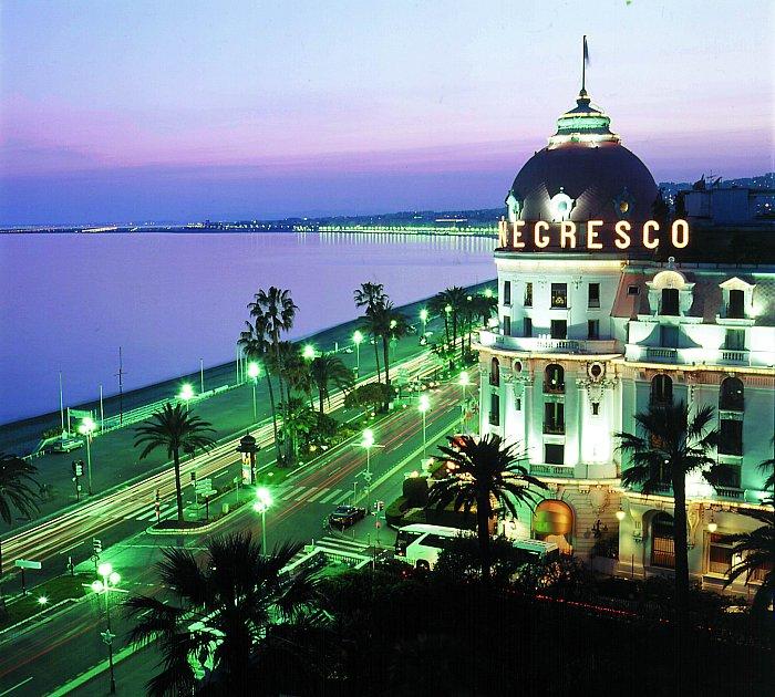 Top 10 des hôtels à Nice